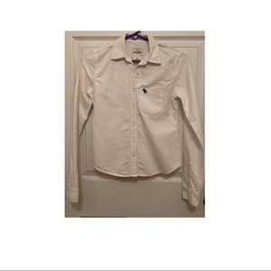 Long sleeve all cotton shirt from Abercrombie